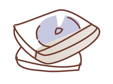 vector illustration: cd