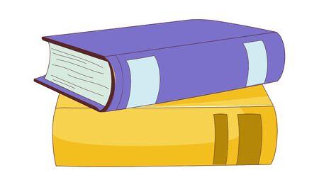 vector illustration: book