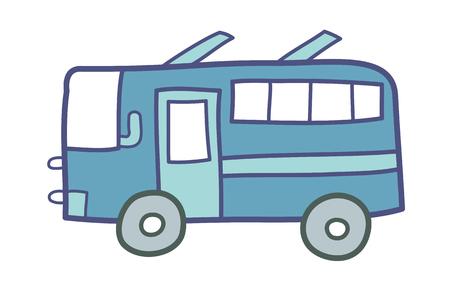 ベクトル イラスト: バス