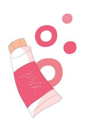 vector illustration: bottle