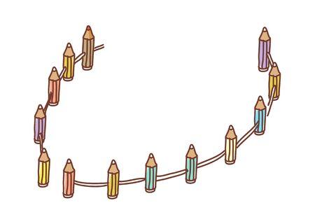 vector illustration: fence Illustration