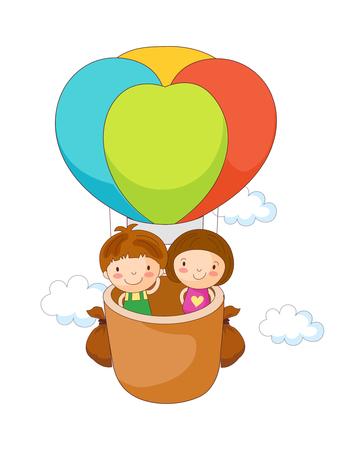 vector illustration: balloon Illustration