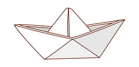 vector illustration: paper
