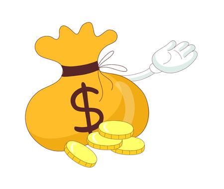 vector illustration: money Illustration