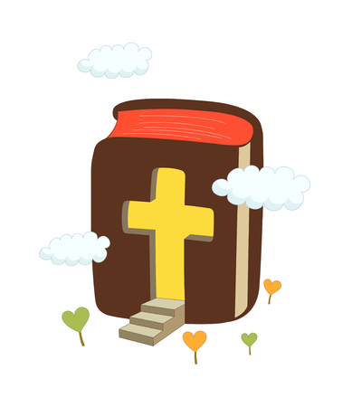 the scriptures: vector illustration: religion Illustration