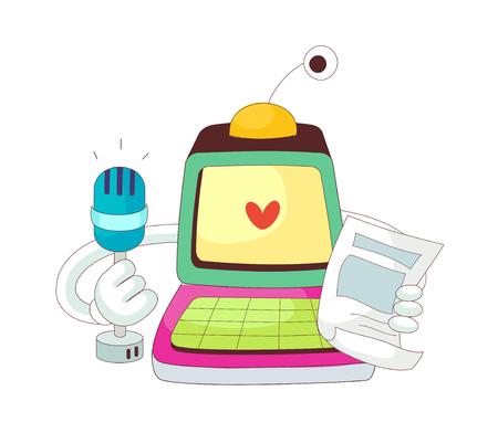 vector illustration: technology Illustration