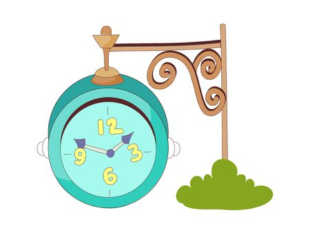 vector illustration: time