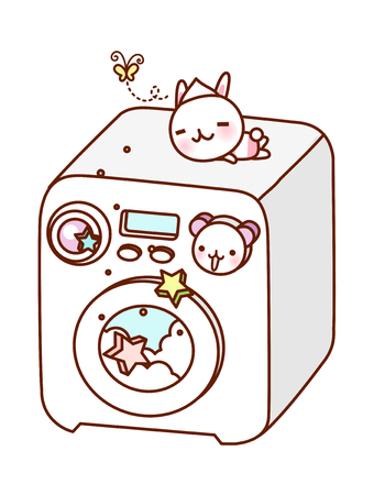 vector illustration: appliance