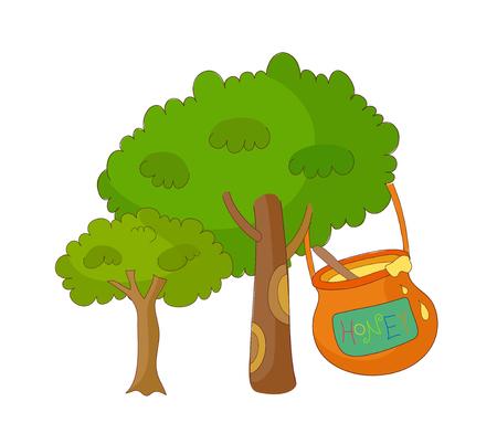 vector illustration: tree