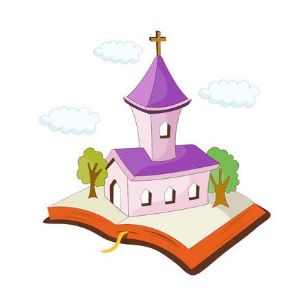 A  vector illustration: religion Illustration