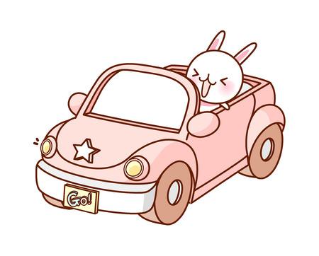 A  vector illustration: vehicle Иллюстрация
