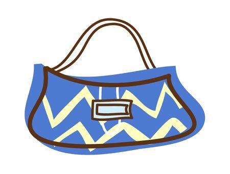 A  vector illustration: bag Illustration