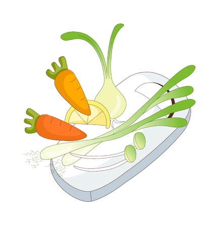 do cooking: A  vector illustration: food