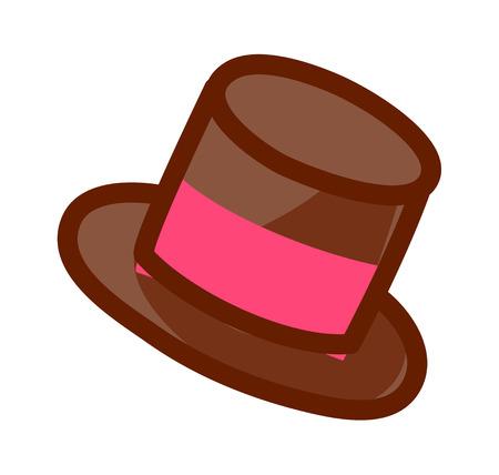 A  vector illustration: hat