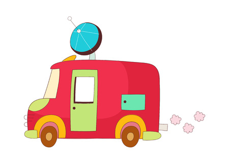 automobile door: A  vector illustration: vehicle Illustration