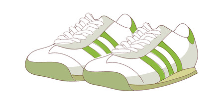 A  vector illustration: shoes