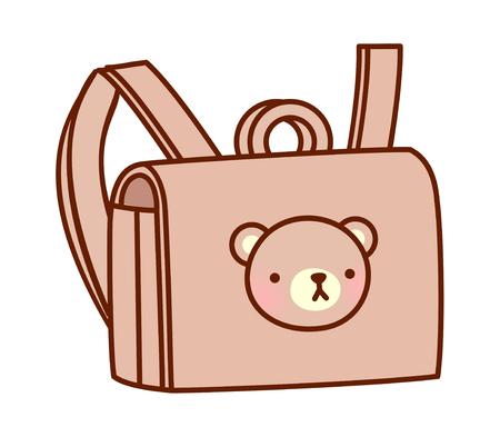 bookbag: vector illustration: bag