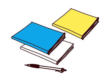 jotter: vector illustration: education