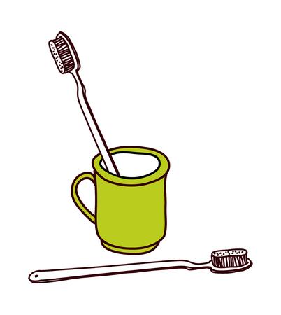 vector illustration: hygiene