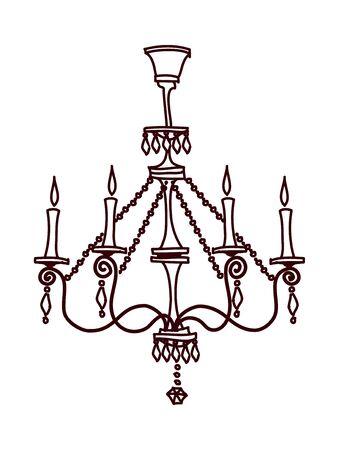 vector illustration: lights