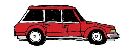ベクトル イラスト: 車両