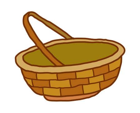 vector illustration: basket