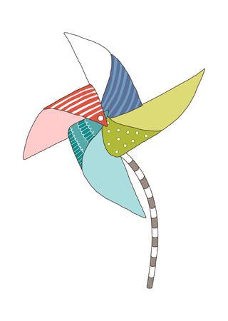 Vector illustration: machine. Illustration