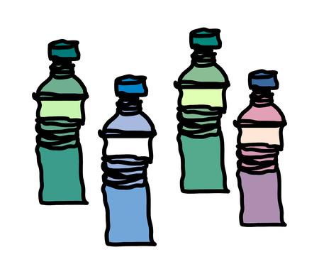 Vector illustration: bottle Illustration