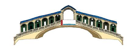 Vector illustration: landmark.