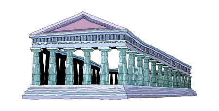 vector illustration: landmark