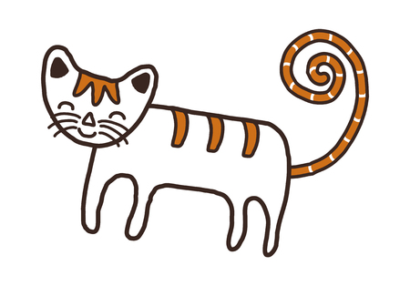 children's story: vector illustration: animal Illustration