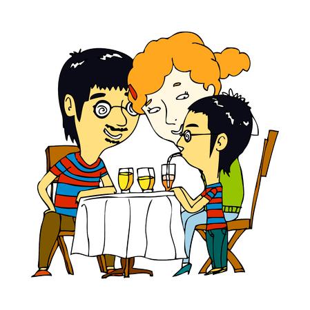 vector illustration: character Illustration