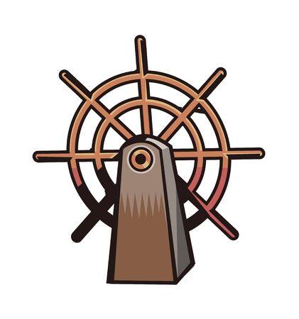 modification: Vector Illustration: wheel