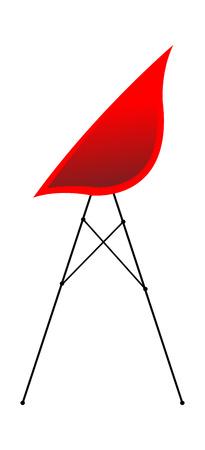 Vector Illustration: chair