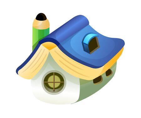 Vector Illustration: house