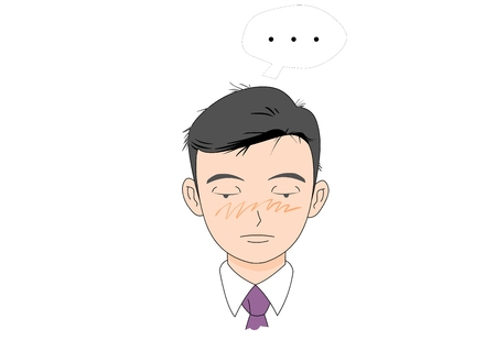 Business man character vector illustration Illustration