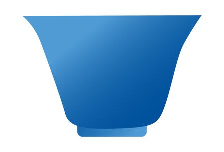 Vector Illustration: pot