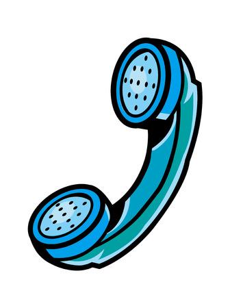 Vector Illustration: telephone Illustration