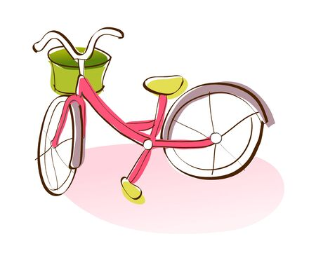 Vector Illustration: bicycle