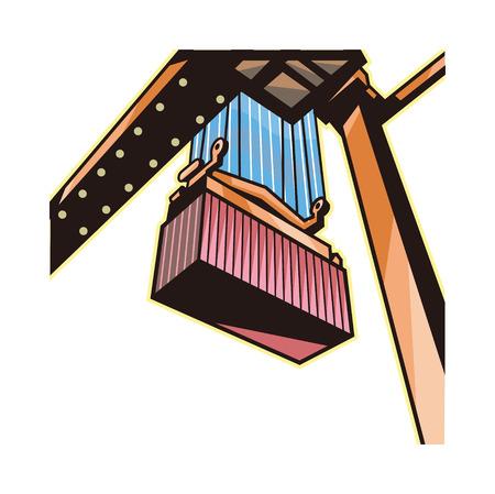 Vector Illustration: box