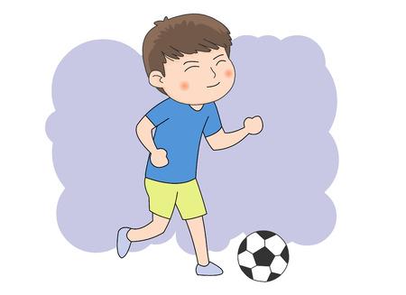 kickball: Soccer Illustration