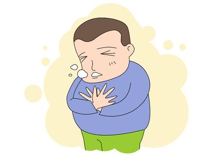 Sick: stomachache