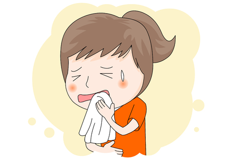 Sick: toothache Illustration