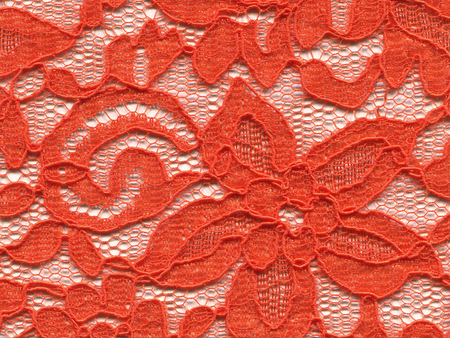 Lace pattern fabric background