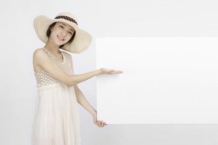 Asian students go on picnic- Isolated on studio shot
