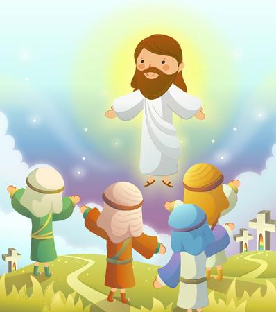 Jesus Christ blessing prophets