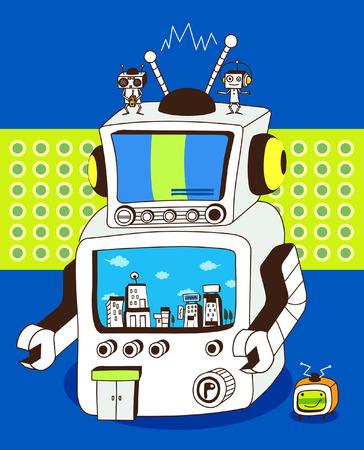 ロボットのクローズ アップ