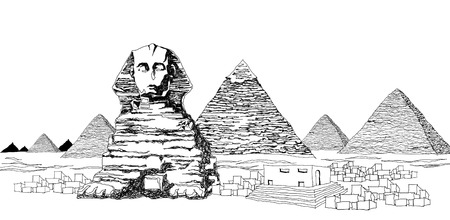 ancient civilization: The Great Sphinx and the Pyramids of Giza