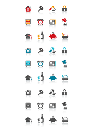 icon symbol set