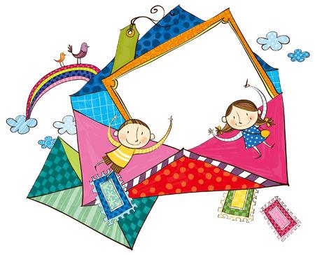 Envelopes for children